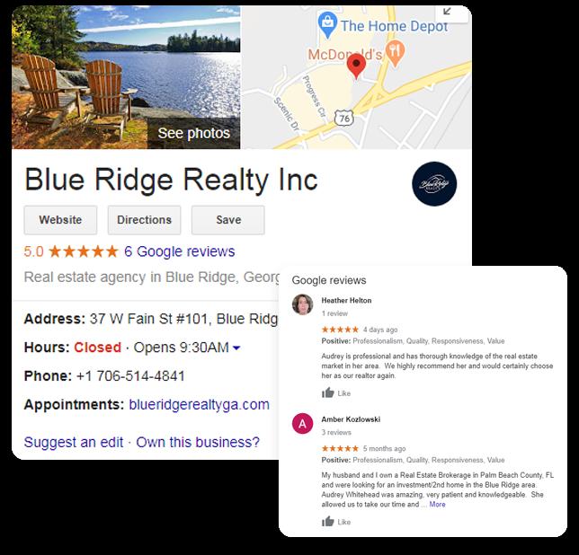 Blue Ridge Realty GMB